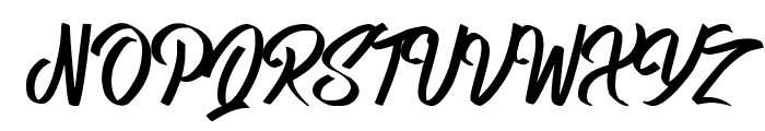 Queens Perfume Font UPPERCASE