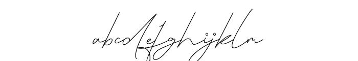 Queenstown Signature Font LOWERCASE