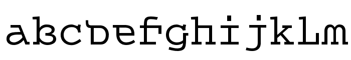 Queer Theory RegularTrial Font LOWERCASE