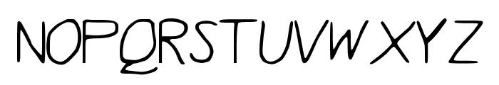 Quentrell Font UPPERCASE