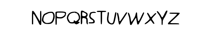 Quentrell Font LOWERCASE