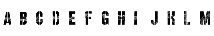 Querencia Army DEMO VERSION Font LOWERCASE
