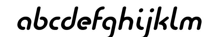 Quesat Demi Bold Demo Italic Font LOWERCASE