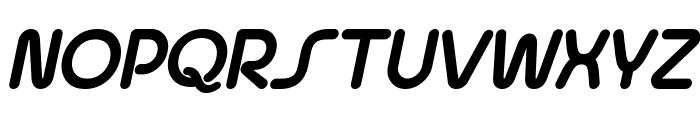 Quesat Demo Bold Italic Font UPPERCASE