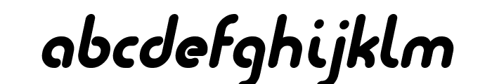 Quesat Demo Bold Italic Font LOWERCASE