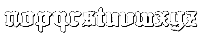 Quest Knight 3D Font LOWERCASE
