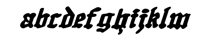 Quest Knight Italic Font LOWERCASE