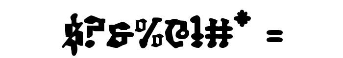Quest Knight Font OTHER CHARS
