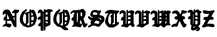 Quest Knight Font UPPERCASE