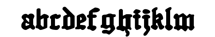Quest Knight Font LOWERCASE