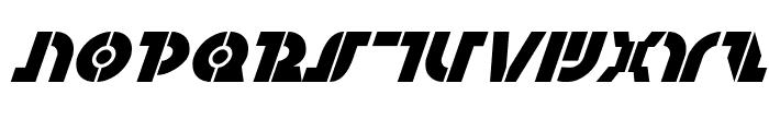 Questlok Italic Font UPPERCASE