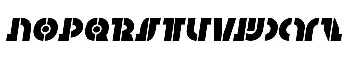 Questlok Semi-Italic Font UPPERCASE