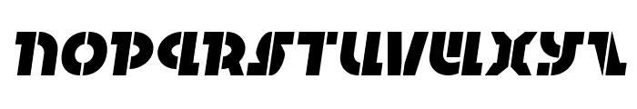 Questlok Semi-Italic Font LOWERCASE