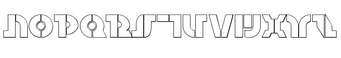 Questlok Shadow Font UPPERCASE