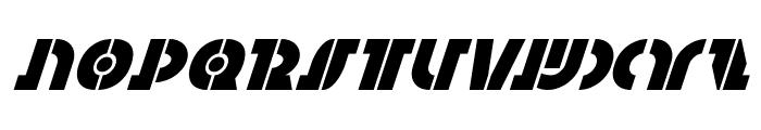 Questlok Super-Italic Font UPPERCASE