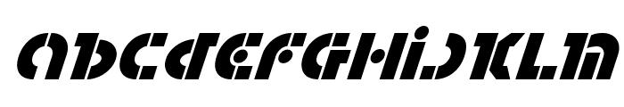 Questlok Super-Italic Font LOWERCASE