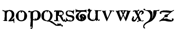 Questra Extra ST Font UPPERCASE