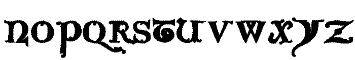 Questra Extra ST Font LOWERCASE