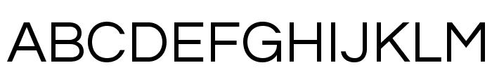 Questrial-Regular Font UPPERCASE