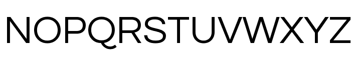 Questrial Font UPPERCASE
