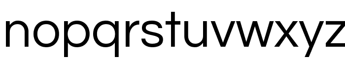 Questrial Font LOWERCASE
