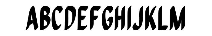 Quiapo Free Font UPPERCASE