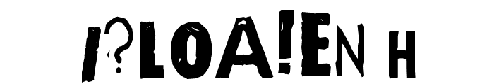 Quick End Jerk Font OTHER CHARS