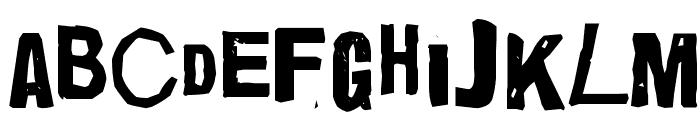Quick End Jerk Font LOWERCASE