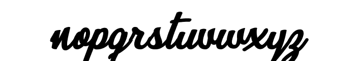 Quick Kiss Personal Use  Font LOWERCASE