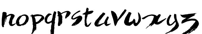 Quick Menu Boards Font LOWERCASE