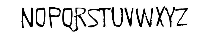 Quick Pangolin Font UPPERCASE