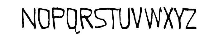 Quick Pangolin Font LOWERCASE