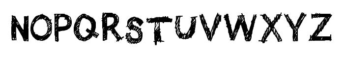 Quick Pencil Regular Font UPPERCASE