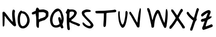 Quick Print Regular Font UPPERCASE