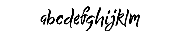 Quick Silver Demo Font LOWERCASE