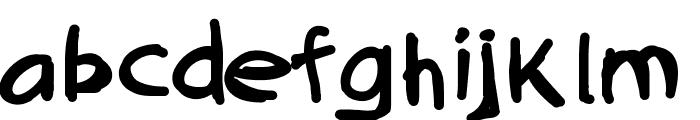 QuickAsABunny Font LOWERCASE