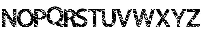 QuickCut Font UPPERCASE