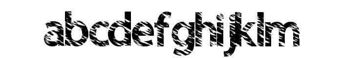 QuickCut Font LOWERCASE