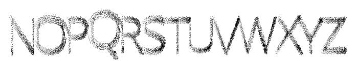 QuickFade Font UPPERCASE