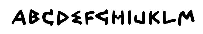 QuickGreek  Bold Font LOWERCASE