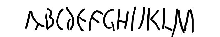 QuickJuliusC Font UPPERCASE