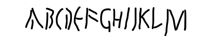 QuickJuliusC Font LOWERCASE