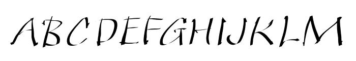 QuickKleinSketches Font UPPERCASE