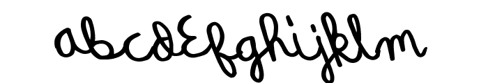 QuickRodeo Font LOWERCASE