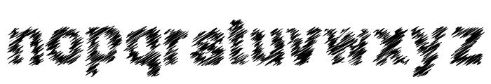 QuickScratch Font LOWERCASE