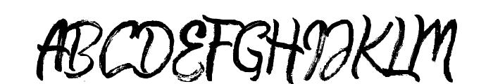 QuickSilverDemo Font UPPERCASE