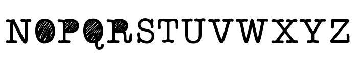 QuickStaffMeeting Font UPPERCASE