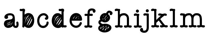 QuickStaffMeeting Font LOWERCASE