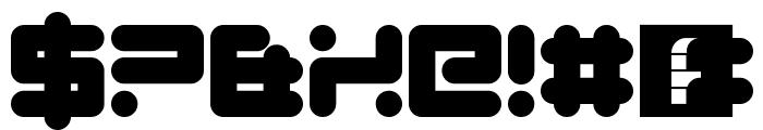 Quickfyr Regular Font OTHER CHARS