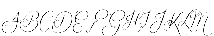 Quickier Demo Font UPPERCASE